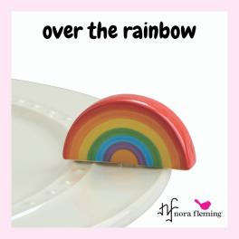 Nora Fleming Over The Rainbow Mini