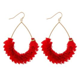 Already Mine Earrings - Red