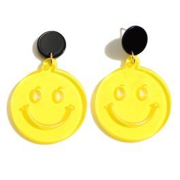 Always Smiling Earrings - Yellow