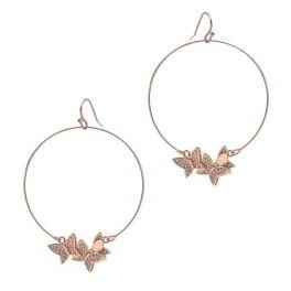 Change My Mind Earrings - Rose Gold