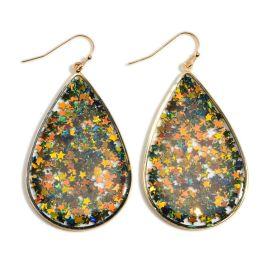Sparkle On Earrings - Black