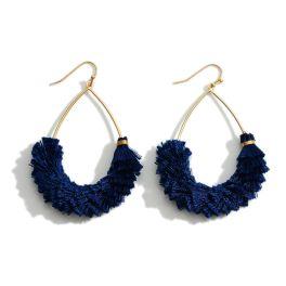 Already Mine Earrings - Navy