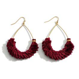 Already Mine Earrings - Wine
