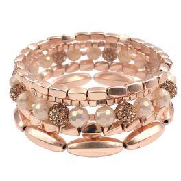 Keep On Loving You Bracelet - Worn Rose Gold
