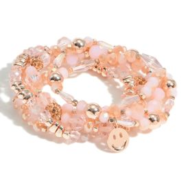 Love To Smile Bracelet - Pink