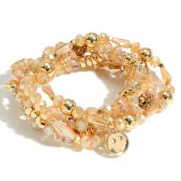 Love To Smile Bracelet - Champagne