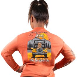 Simply Southern Wheel Long Sleeve T-Shirt - YOUTH