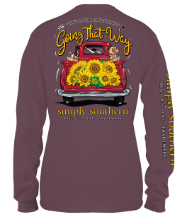 Simply Southern Look Long Sleeve T-Shirt