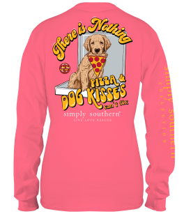 Simply Southern Pizza Long Sleeve T-Shirt