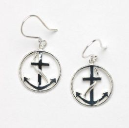 Southern Gates Anchor Earrings