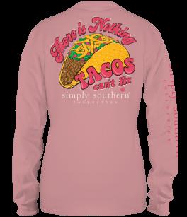 Simply Southern Taco Long Sleeve T-Shirt