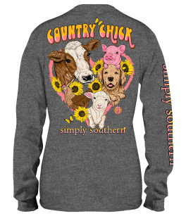Simply Southern Chick Long Sleeve T-Shirt