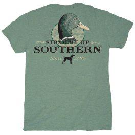 Straight Up Southern Mallard Portrait T-Shirt