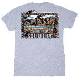 Straight Up Southern Southern Wetlands T-Shirt