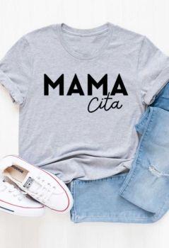 Mamacita Tee In Plus - Grey