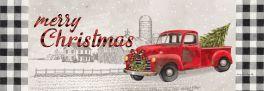 Christmas Truck Signature Sign