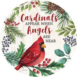 Cardinals & Angels Accent Magnet