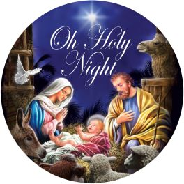 Holy Night Nativity Accent Magnet