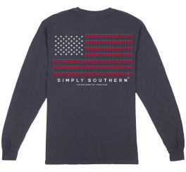 Simply Southern Men's Red Cup Long Sleeve T-Shirt