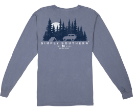Simply Southern Men's Outdoors Long Sleeve T-Shirt