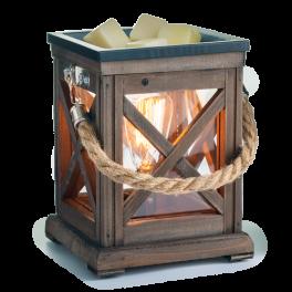 Walnut & Rope Vintage Bulb Illumination Wax Warmer