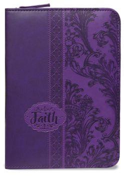 Light Purple Faith Bible Journal