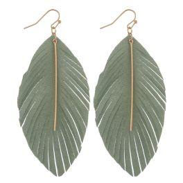 Swept Away Earrings - Mint