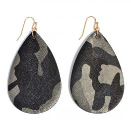 Save It For Later Earrings - Grey