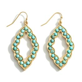Places To Be Earrings - Turquoise