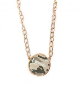 Forget Me Not Necklace - Camo