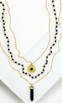 Get Ready Necklace - Gold