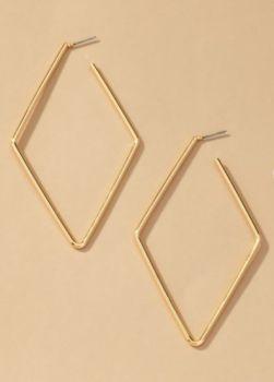 Between Us Earrings - Gold
