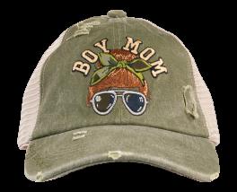 Simply Southern Boy Mom Hat