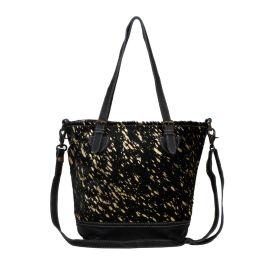 Myra Celestial Canvas & Hairon Bag