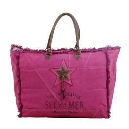 Myra Popping Pink Weekender Bag
