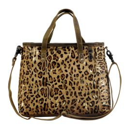 Myra Fearless Leather & Hairon Bag