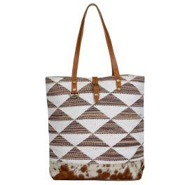 Myra Geometrical Tote Bag