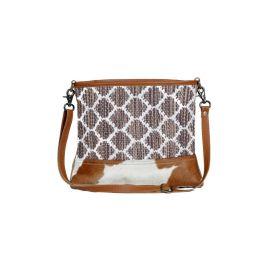 Myra Wave-Like Shoulder Bag