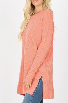 Have It Your Way Top In Plus - Deep Coral