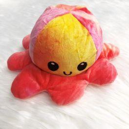 Happy Sad Tie-dye Octopus Plush