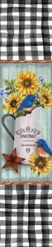 Bluebirds & Sunflowers Yard Expression