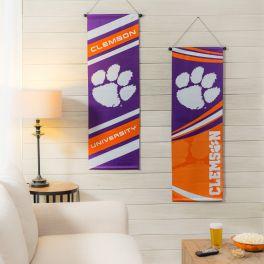 Clemson University Dowel Banner