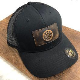 Men's Shotgun Trucker Hat - Black/Black