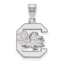 Sterling Silver USC Medium Pendant
