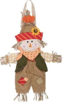 Scarecrow Hanging Sign