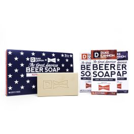 The Patriot Collection - Beer Soap 3-Pack