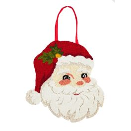 Santa Hooked Door Decor