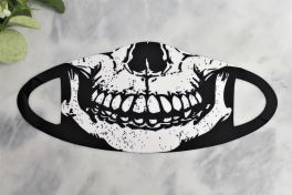 Adult Face Mask - Skull