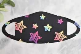 Kids Face Mask - Rainbow Stars