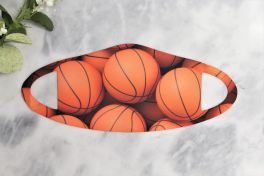 Kids Face Mask - Basketball